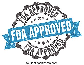 fda approved stamp. sign. seal