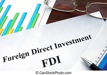 fdi, investissement étranger, direct