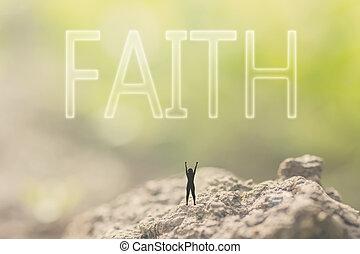 fe, concepto