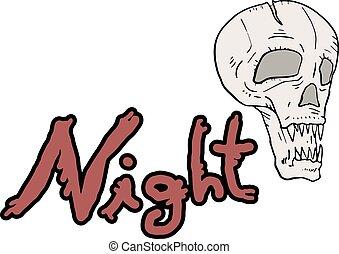 fear night symbol