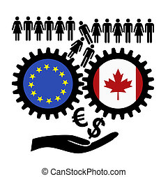 Fears over CETA. - People in fear of the free trade...