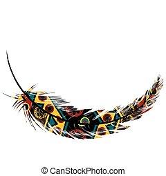 featfer, motifs, ethnique