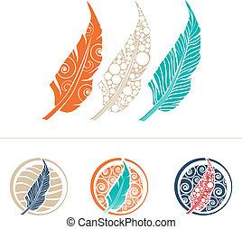 Feather Design Set