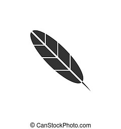 Feather icon flat