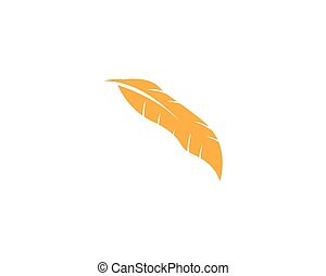Feather icon vector illustration