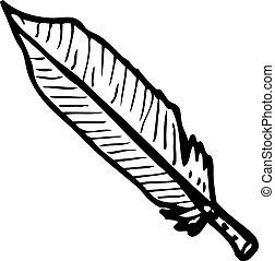 feather illustration