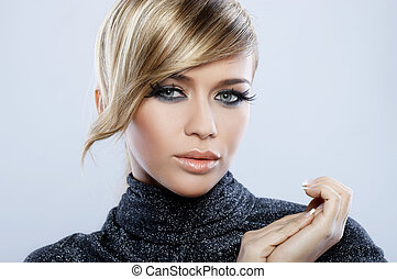 Feather Makeup