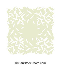 Feather vector abstract background concept