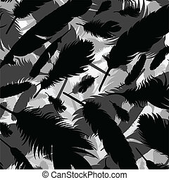 Feather vector background
