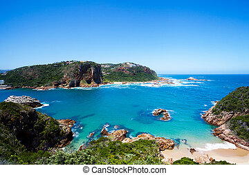 Knysna, South Africa - featherbed nature reserve in Knysna,...