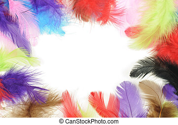 Feathers frame