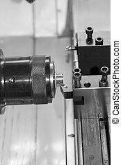 Feature of CNC machine tool cutting parts