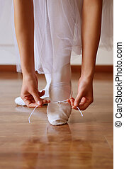 Featured dance shoes and hands