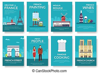 features., conjunto, lugares, naturaleza, moda, país, viaje,...