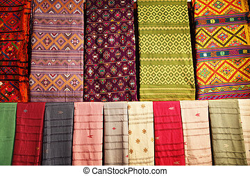 Featuring intricate designs and vibrant colours, Bhutanese textiles are prized household items.
