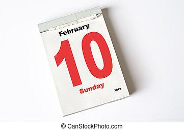 febrero, 10., 2013