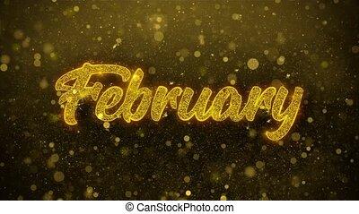 februar, karte, einladung, wünsche, grüße, firework, feier