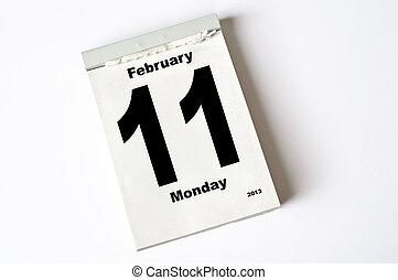 februari, 11., 2013