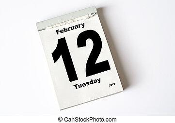 februari, 12., 2013
