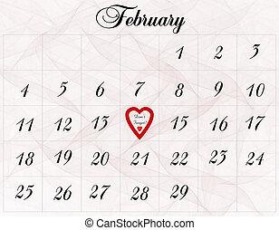 februari, 14