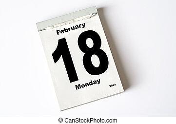februari, 18., 2013