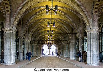 FEBRUARY 08: Rijksmuseum Amsterdam - AMSTERDAM, NETHERLANDS...