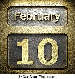 february 10 golden sign