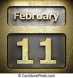 february 11 golden sign