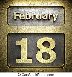 february 18 golden sign