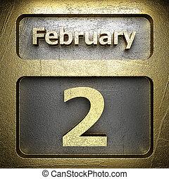 february 2 golden sign