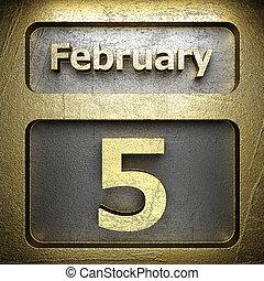 february 5 golden sign