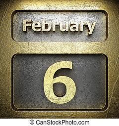 february 6 golden sign