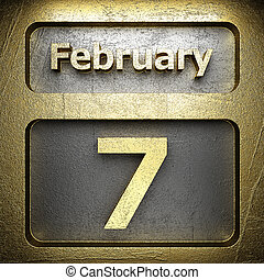 february 7 golden sign