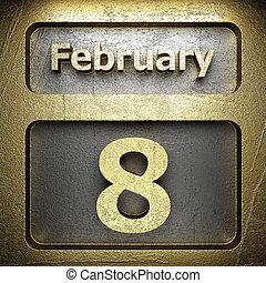 february 8 golden sign