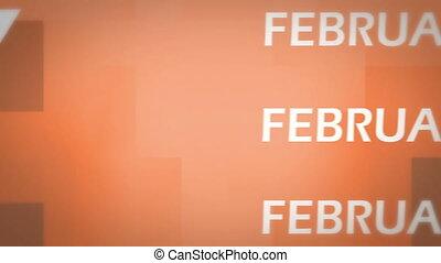 February animation