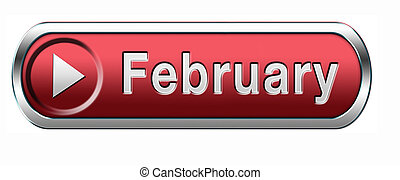 february - February cold winter month