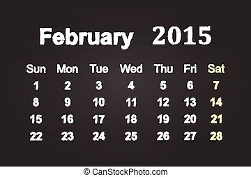 February Month 2015