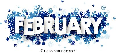 February sign.