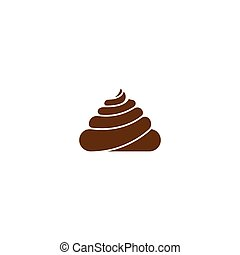 Feces icon illustration vector design