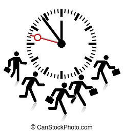 fecha tope, límite, tiempo