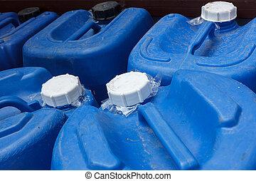 fedő, kémiai, kék, műanyag