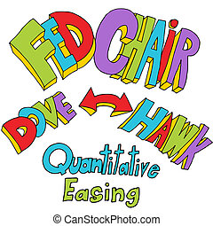 Fed Chair Quantitative Easing - An image of quantitative...