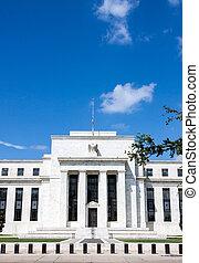 federaal, washington, reserveren, d, bank