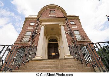 Federal Adamsesque Building Steps Washington DC