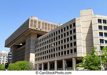 Federal Bureau of Investigation building in Washington, D.C.