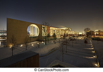 Federal Chancellery, Berlin - The Federal Chancellery...