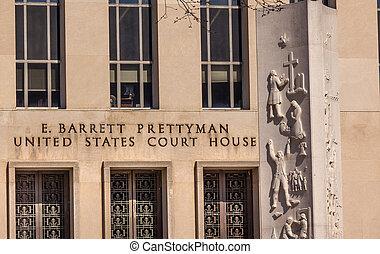 Federal Court Building Pennsylvania Ave Washington DC -...