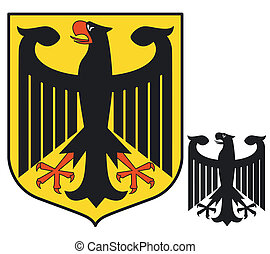 Federal Eagle. Germany