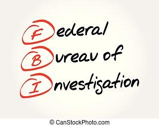 federal, oficina, fbi, investigación, -