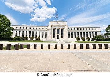 Federal Reserve Bank Building Washington DC USA
